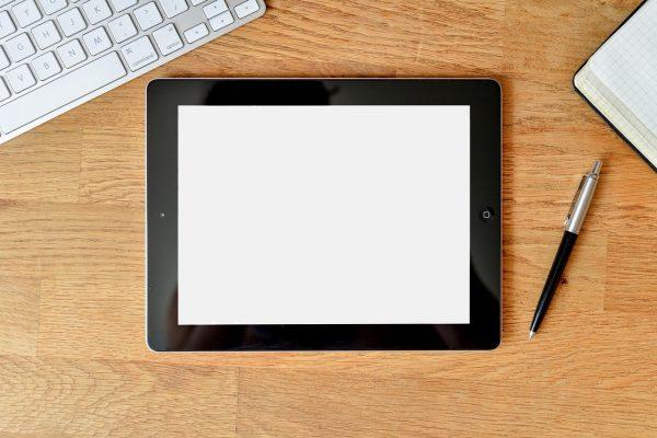 Les composants de la tablette tactile